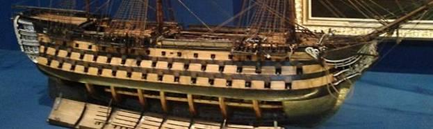 Maquettes de la marine de Napoléon au Grand Trianon 10784610