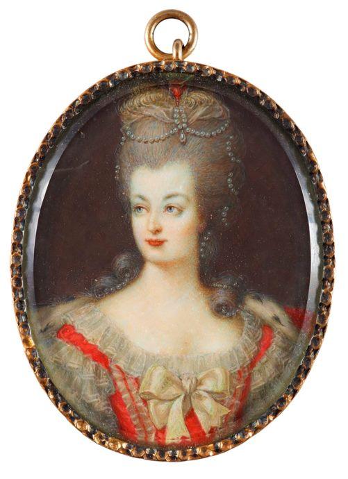 Marie Antoinette, portraits d'après Elisabeth Vigée Lebrun  - Page 2 177810