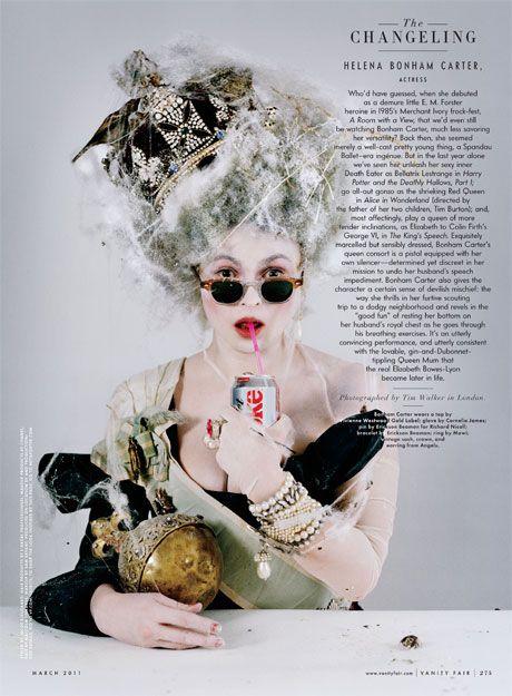 Quand Helena Bonham Carter se prend pour Marie Antoinette 30303410