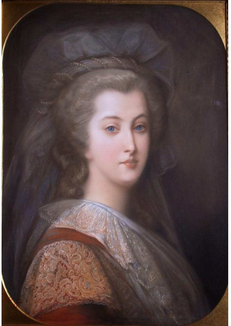 Marie Antoinette, portraits d'après Elisabeth Vigée Lebrun  - Page 2 44theq10