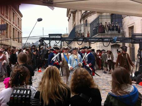 Films sur Marie-Antoinette : anachronismes et photos de tournage - Page 2 A-tour11