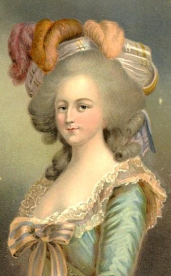 Marie Antoinette, portraits d'après Elisabeth Vigée Lebrun  - Page 2 Ae628c10