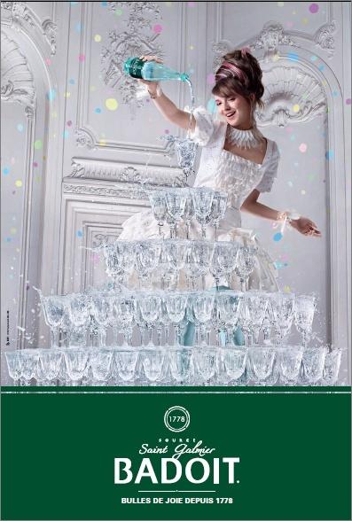 Marie-Antoinette dans les images publicitaires - Page 4 Badoit10