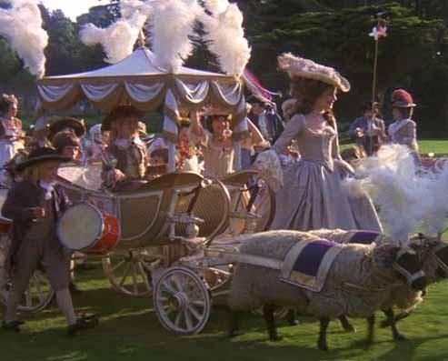 Marie Antoinette avec Kirsten Dunst (Sofia Coppola) Barry-10