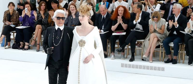 Haute Couture: Nouveau Versailles et Marie Antoinette dans l'espace Chanel10