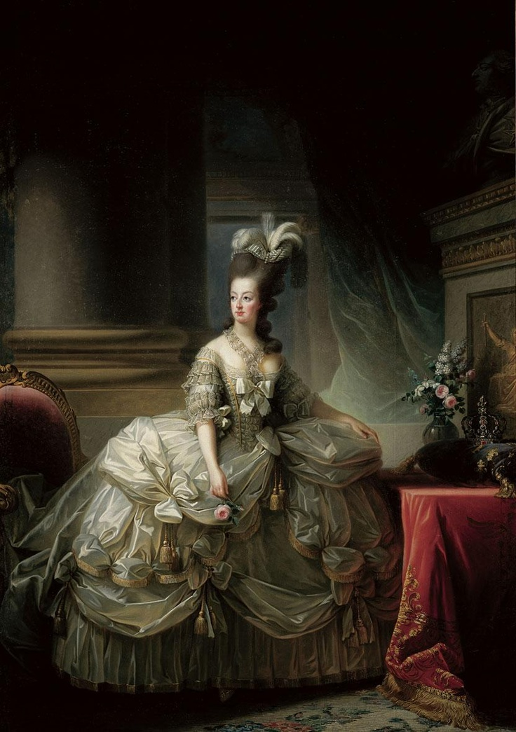Portrait de la Reine 1778 Da252d10
