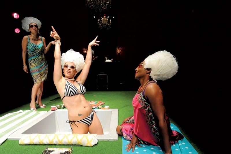 """""""Marie Antoinette - Let Them Eat Cake"""" de David Adjimi au Woolly Mammoth Theatre Dsc_7510"""
