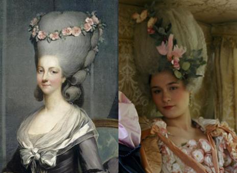 Marie Antoinette avec Kirsten Dunst (Sofia Coppola) Lambal10
