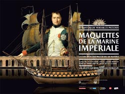 Maquettes de la marine de Napoléon au Grand Trianon Maquet10