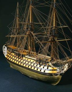 Maquettes de la marine de Napoléon au Grand Trianon Maquet11
