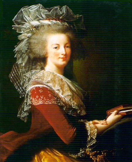 Marie Antoinette, portraits d'après Elisabeth Vigée Lebrun  - Page 3 Maria-12