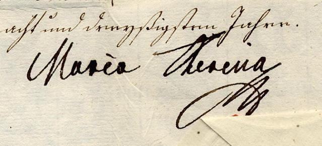 Correspondance secrète entre Marie Thérèse et le Comte de Mercy Argenteau Maria_10