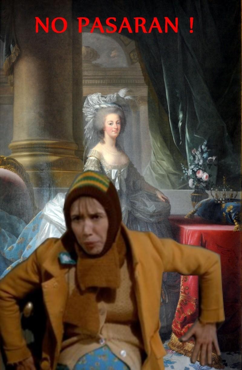 Marie Antoinette, photomontages Marie-10