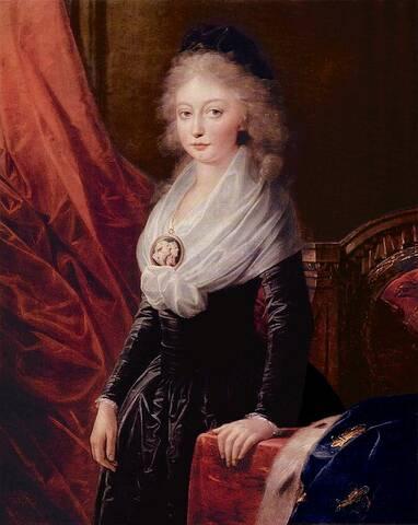 Portraits de Marie Thérèse Charlotte, fille de Louis XVI et de Marie  Antoinette