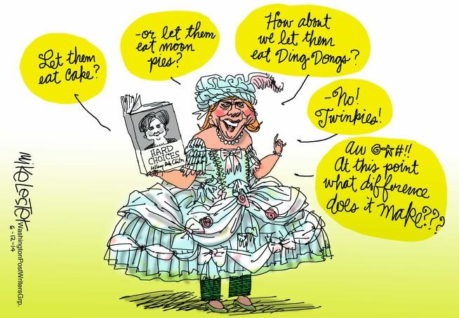 Marie-Antoinette dans la politique actuelle - Page 31 Toon1410
