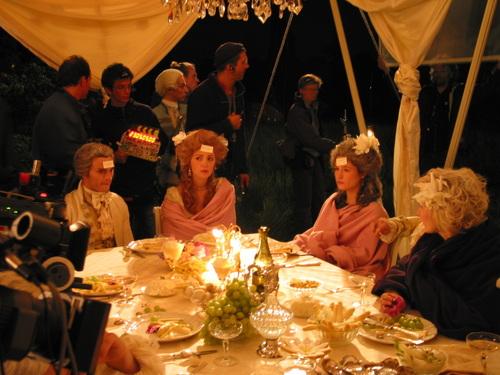 Films sur Marie-Antoinette : anachronismes et photos de tournage - Page 2 Tumblr55