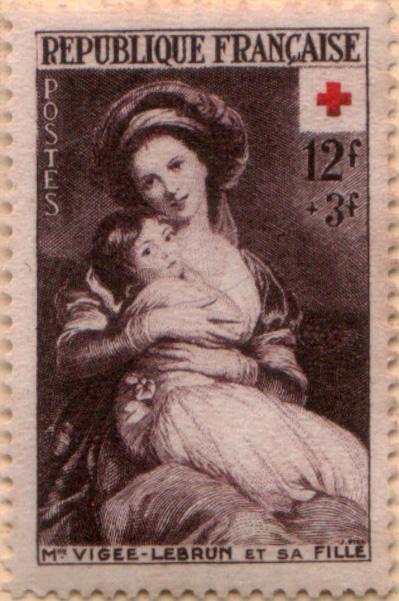 Marie-Antoinette, la Famille Royale et la Révolution en timbres-postes Vigee_10