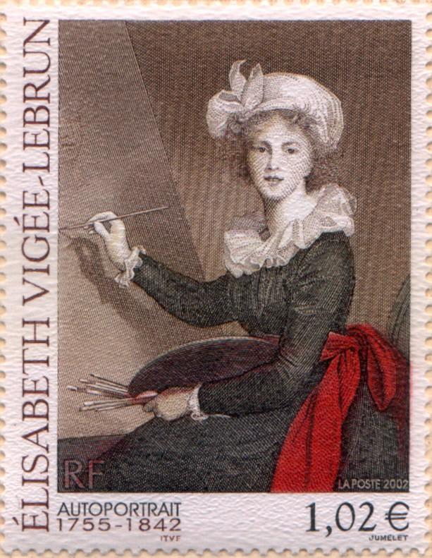 Marie-Antoinette, la Famille Royale et la Révolution en timbres-postes Vigee_11