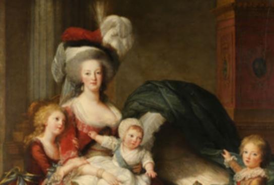 Portrait Marie Antoinette et ses enfants par Elisabeth Louise Vigée Lebrun Zim11