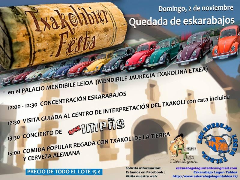 Txakolibier Festa - Domingo 2 Noviembre 10557010