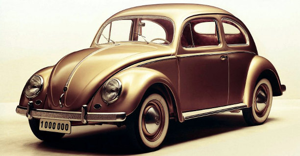 escarabajo 1955 un millon