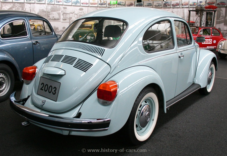escarabajo 2003 ultima edicion