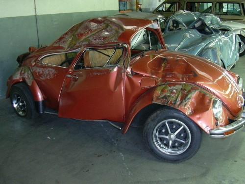 Los últimos escarabajos fabricados... Accide10