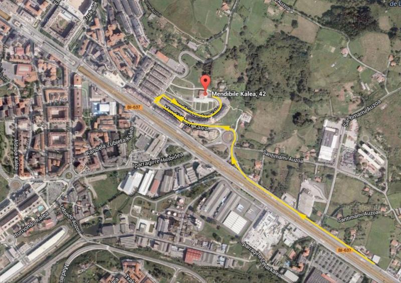 Txakolibier Festa - Domingo 2 Noviembre Mapaa10