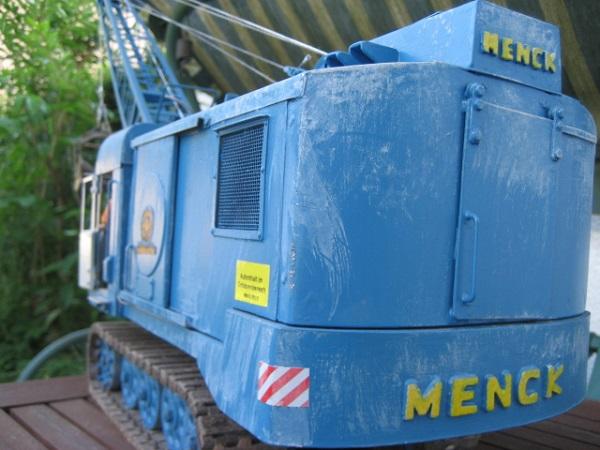 Menck M154 Seilbagger 1:16 M1544012
