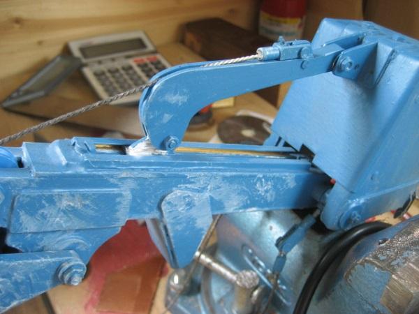Menck M90  Seilbagger in 1:16 M9031010
