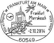 """Sonderflug """" Weihnachten"""" am 24.12. 2014 A212"""