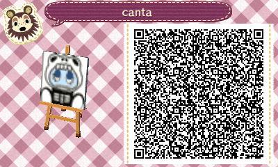 SCANDAL Animal Crossing QR Designs Hni_0014
