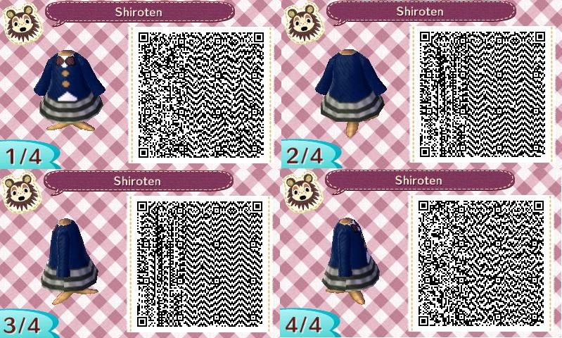 SCANDAL Animal Crossing QR Designs Shirot10