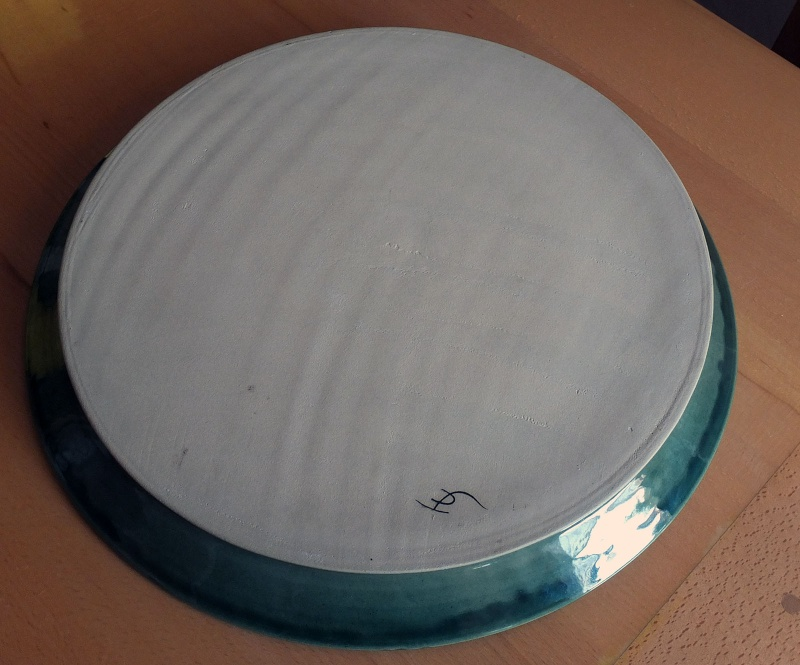 ID on this Large stoneware platter please Cocker11