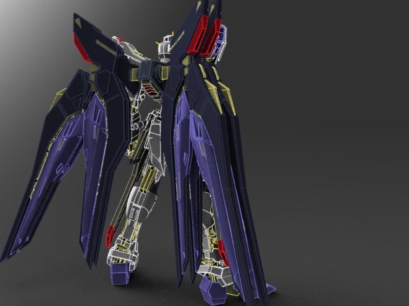 Strike Freedom Gundam Model 110