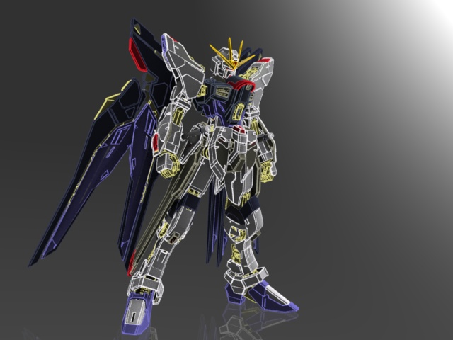 Strike Freedom Gundam Model 1_bmp10