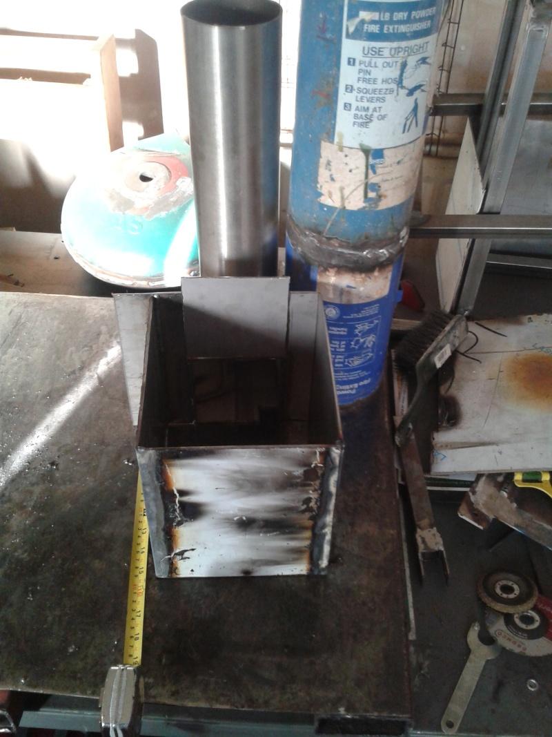 fire extinguisher rocket burner  20140610