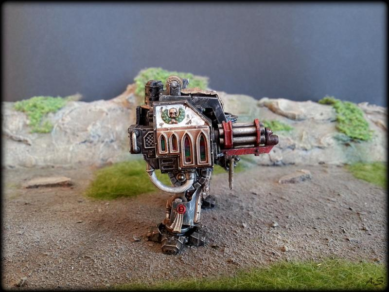 "Ehrwürdiger ""Black Templar"" Cybot *Loro*  K800_222"