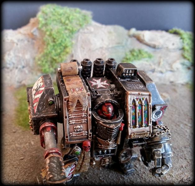 "Ehrwürdiger ""Black Templar"" Cybot *Loro*  K800_224"
