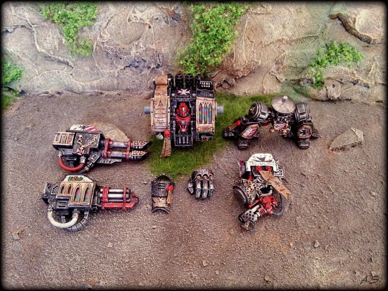 "Ehrwürdiger ""Black Templar"" Cybot *Loro*  K800_228"