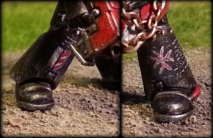 "Ehrwürdiger ""Black Templar"" Cybot *Loro*  K800_234"