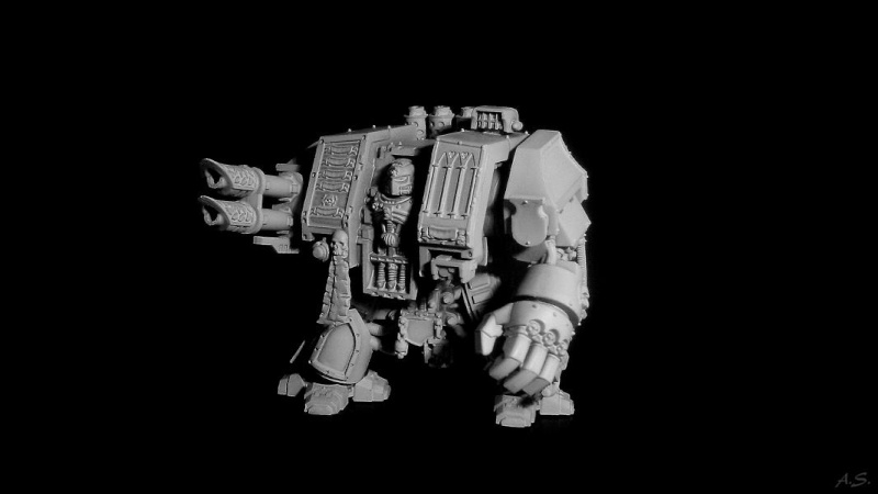 "Ehrwürdiger ""Black Templar"" Cybot *Loro*  K800_d55"