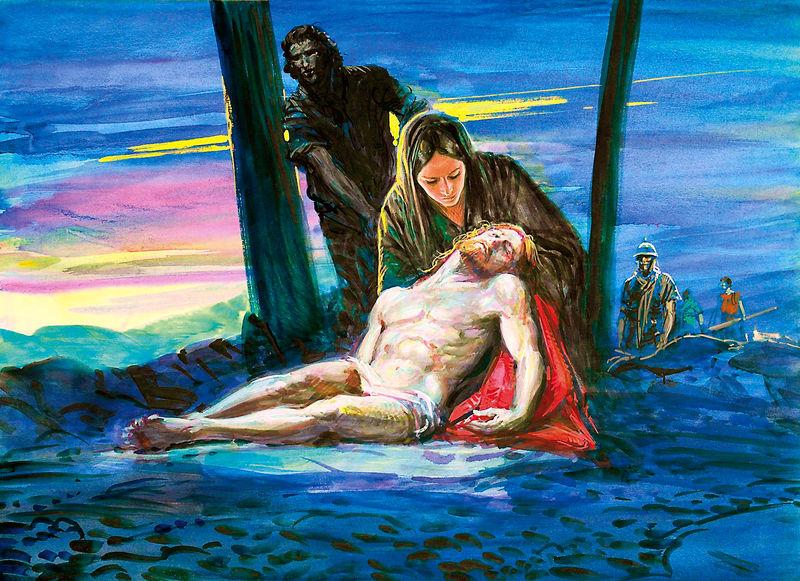 Naissance de Jésus notre Seigneur, vision de Maria Valtorta Marie_14