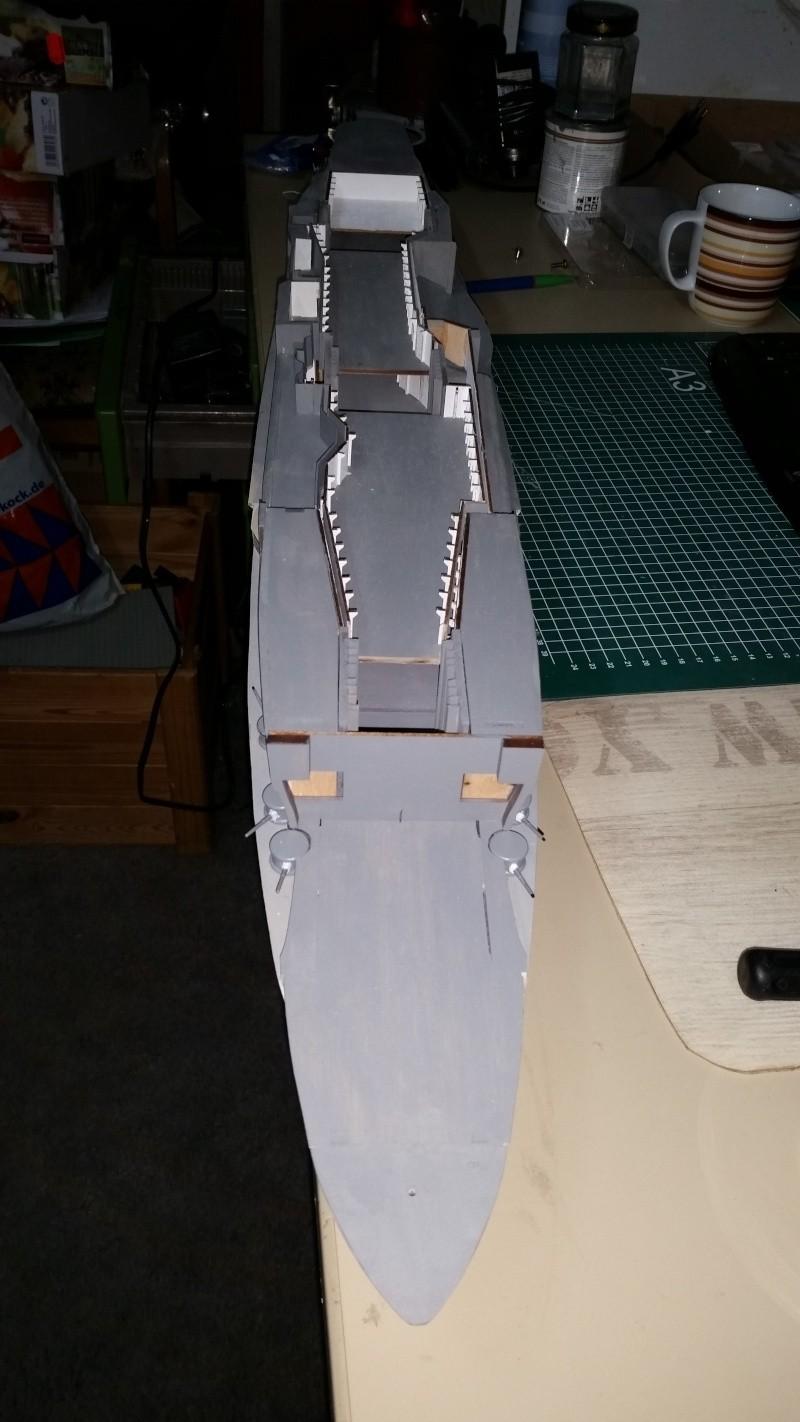 JPN Flugzeugträger AKAGI1:250 von DE AGOSTINI gebaut von Arrowsmodell - Seite 2 Dezemb14