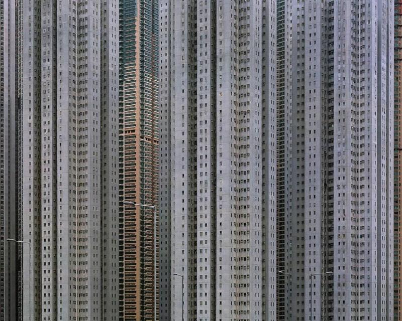 Il photographie la densité architecturale de Hong Kong, un p 1013