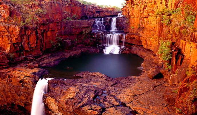 Les cascades Mitchell Falls 110