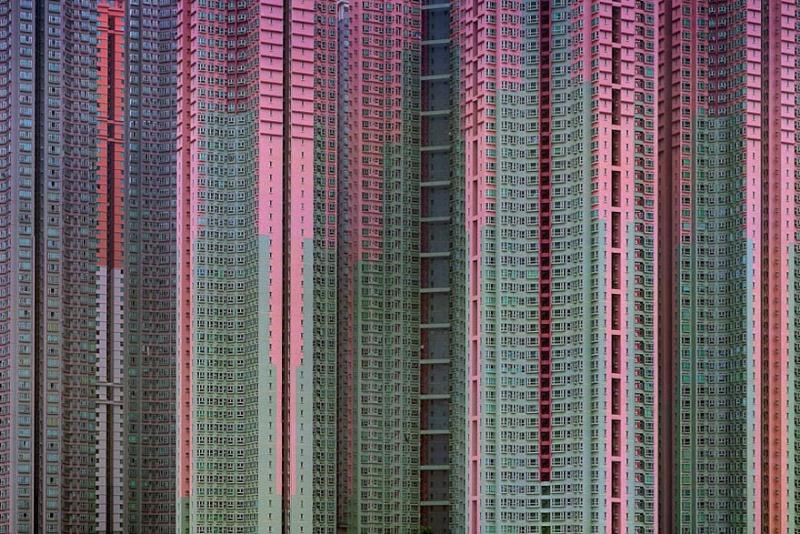 Il photographie la densité architecturale de Hong Kong, un p 11101