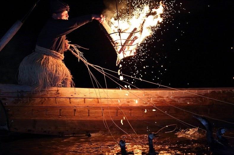 Le Ukai, l'art ancestral japonais de la pêche au cormoran 1218