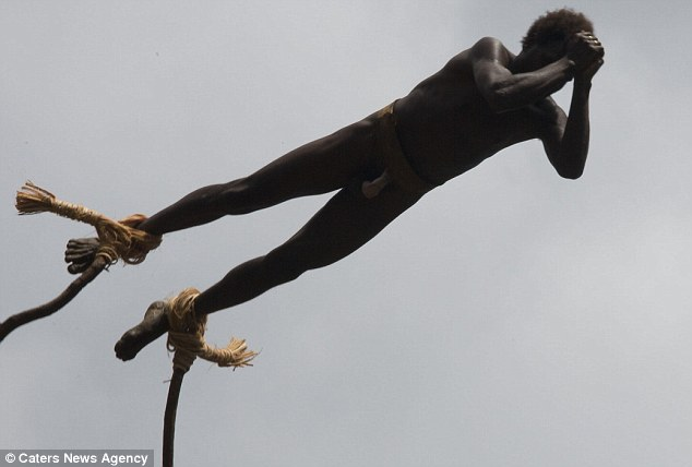l'incroyable rituel de passage dans cette tribu du Pacifique 1270
