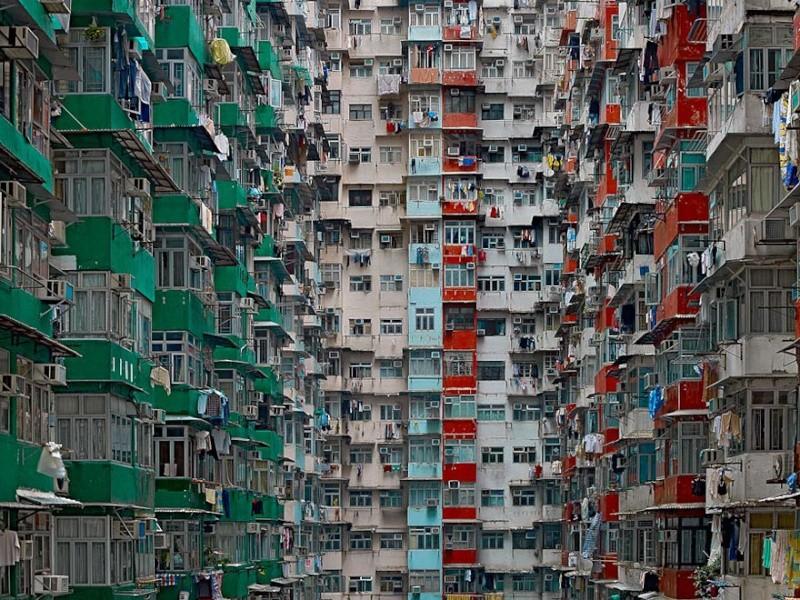 Il photographie la densité architecturale de Hong Kong, un p 1425
